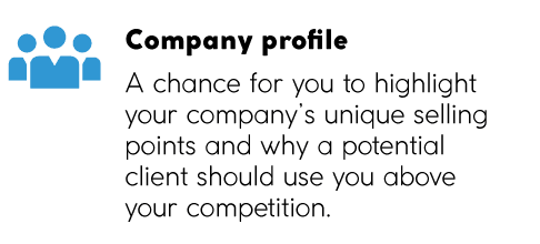 companyprofile elements